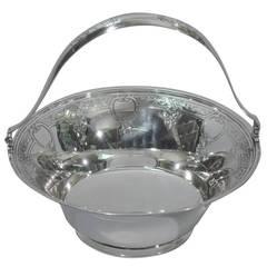Tiffany & Co. American Sterling Silver Basket