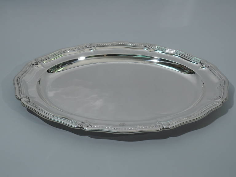 Tiffany Platter Round Serving Tray American Sterling