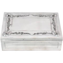 French Belle Epoque Silver Box