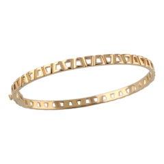 18 Karat Rose Gold Theodora Bangle Bracelet