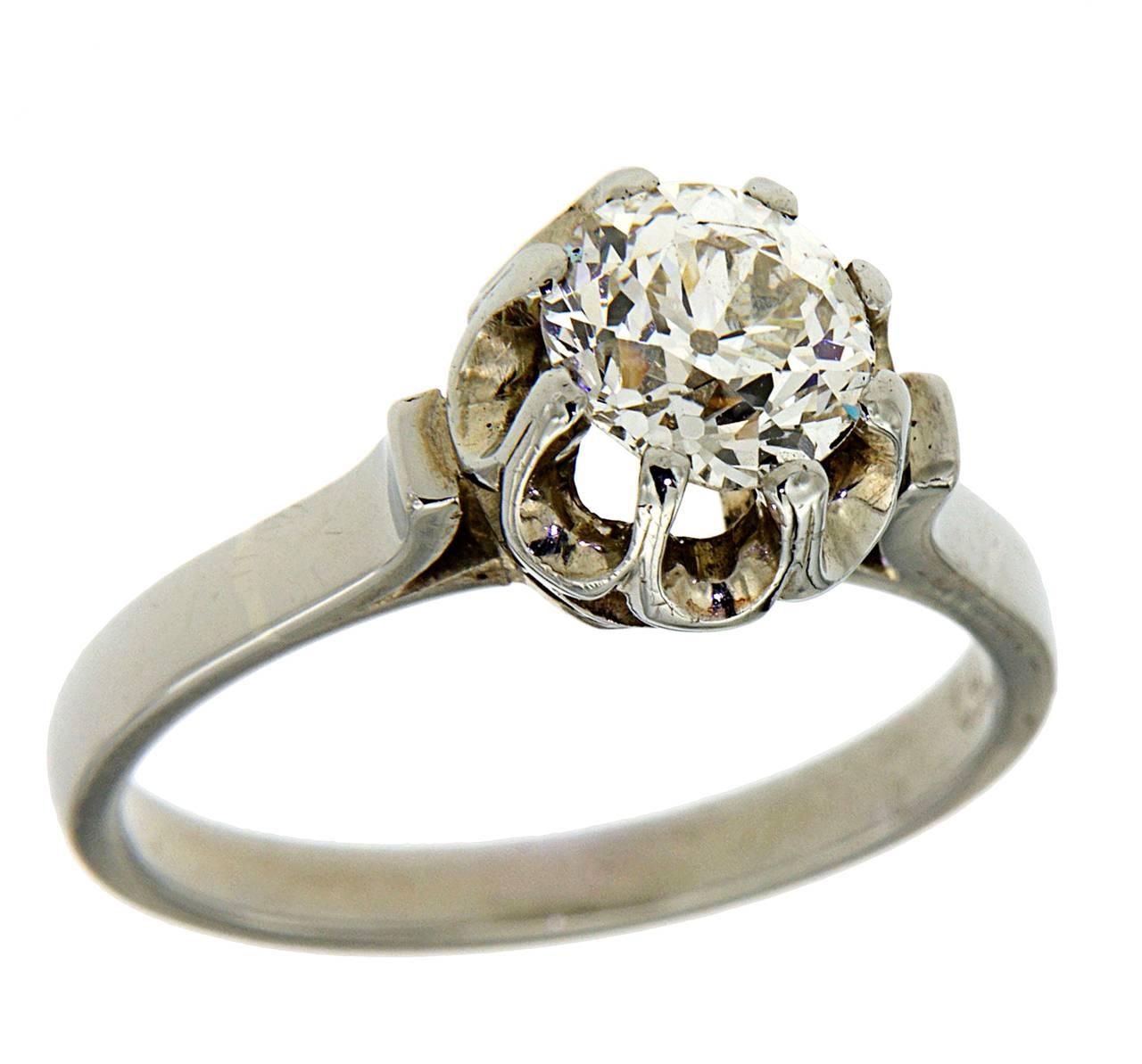 italian gold engagement ring at 1stdibs