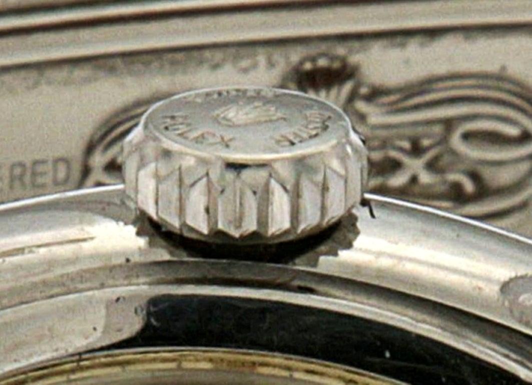 Rolex Stainless Steel Oyster Wristwatch Ref 6084 4