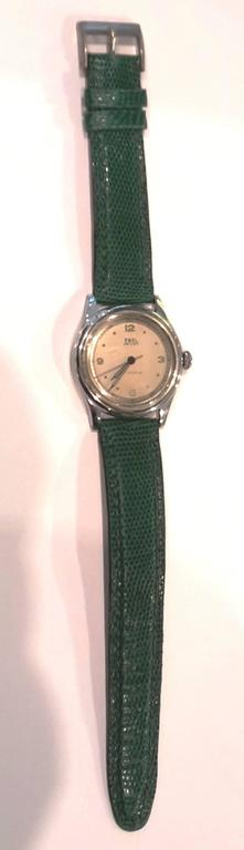 Antique Ebel Stainless Steel Sport Wristwatch For Sale 1