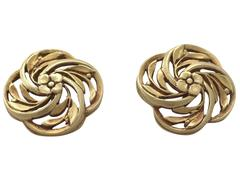 Cufflinks in 18k Yellow Gold - Antique French Circa 1900