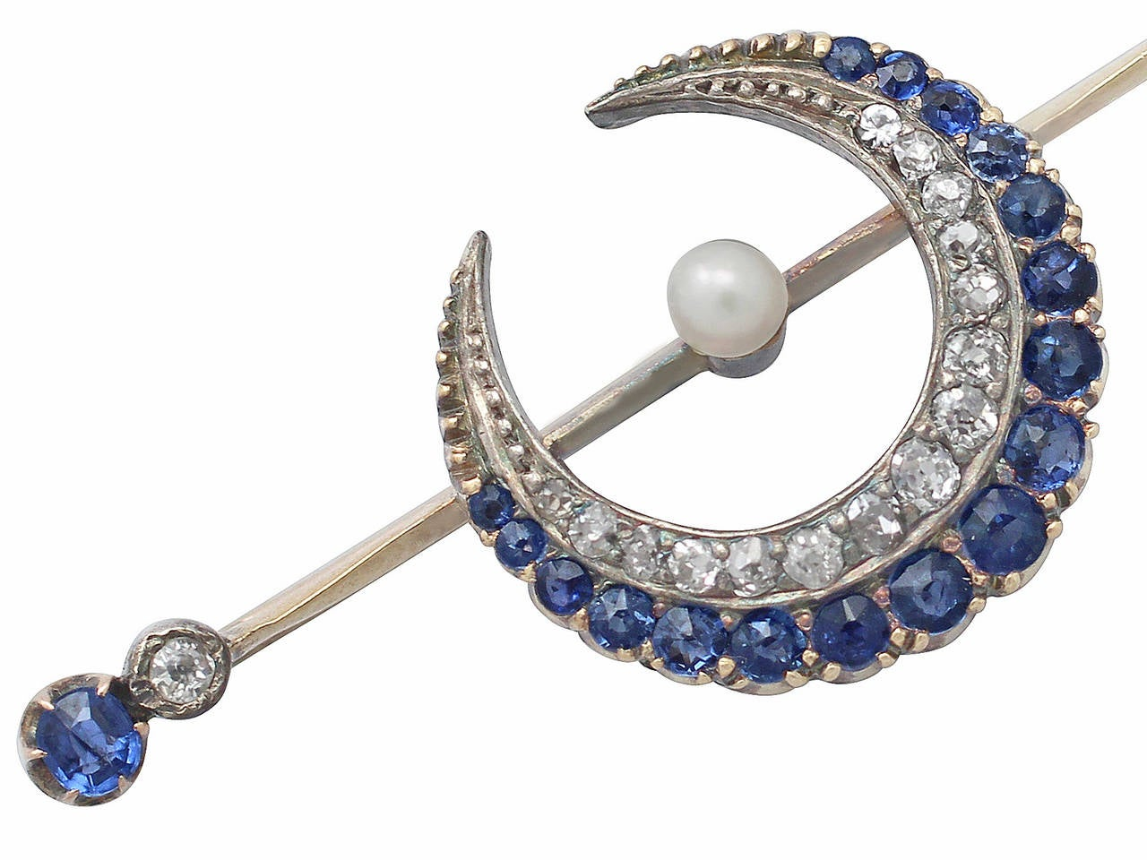 Antique Diamond Brooches For Sale