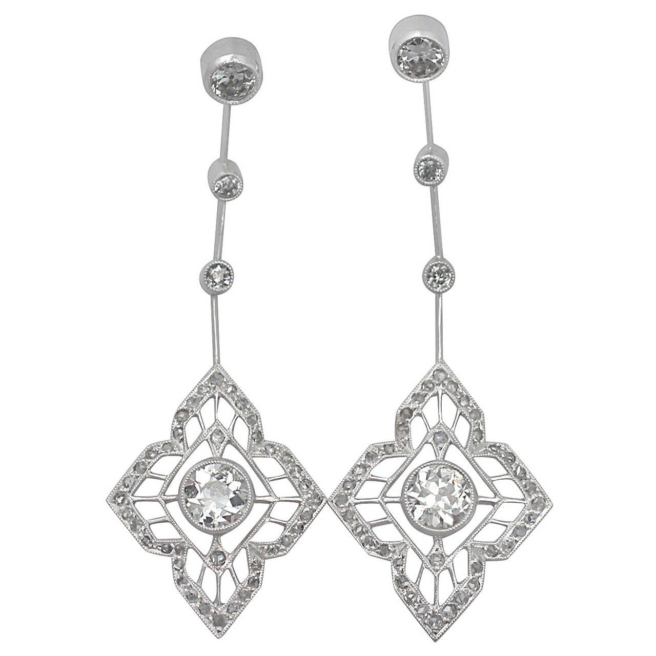 art tradesy i chloe isabel drop earrings deco