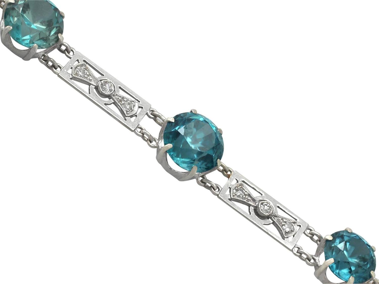front in bracelet emerald sterling cut silver white round zircon