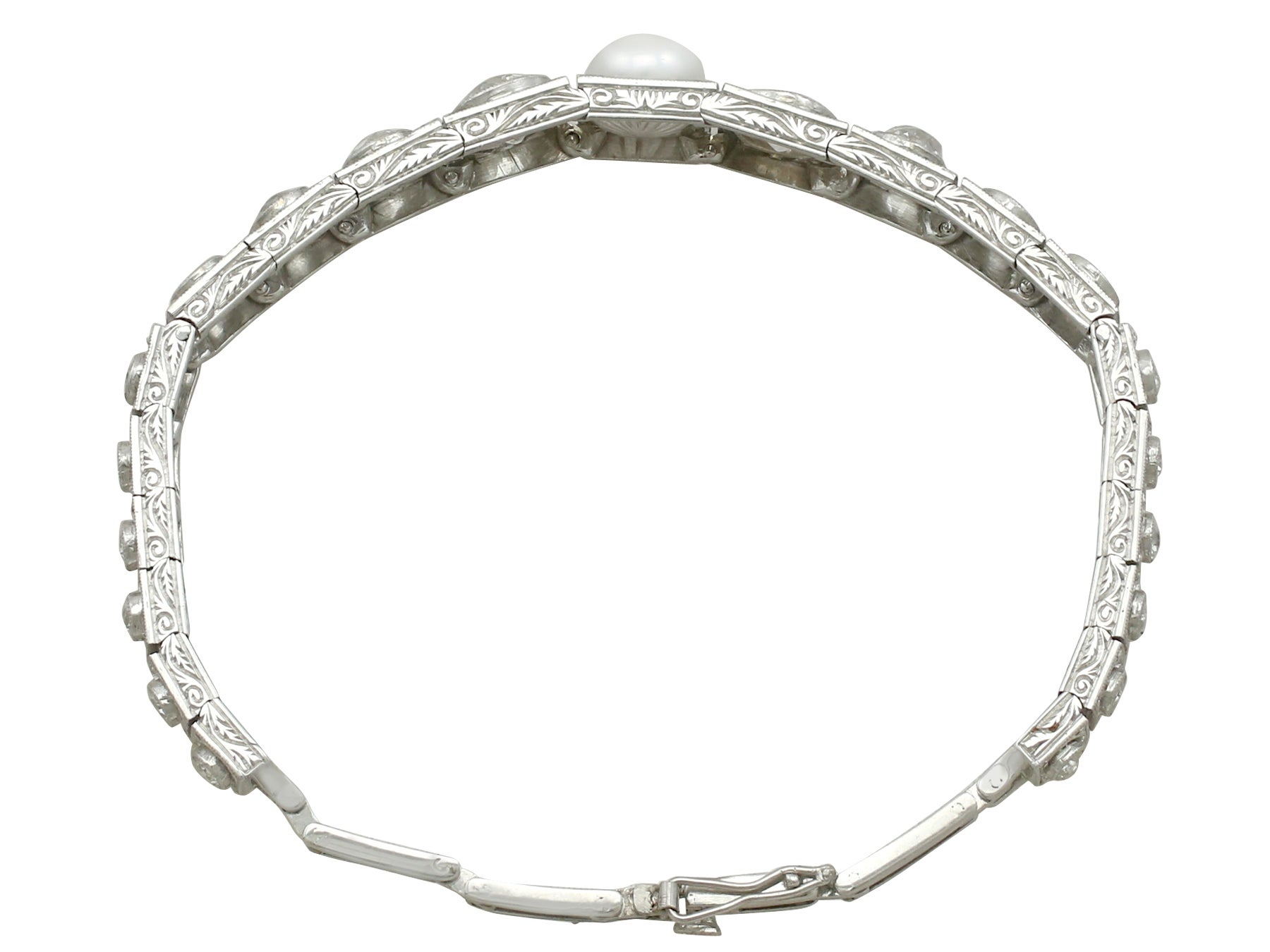 anita diamond wg atlas ko marquis bracelet products pearl