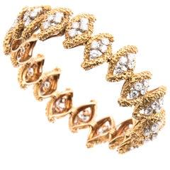 Boucheron 18k Yellow Gold and Diamond Bracelet