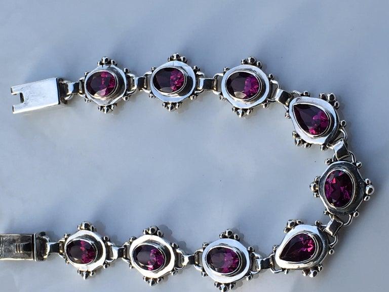 Garnet Bracelet For Sale 2