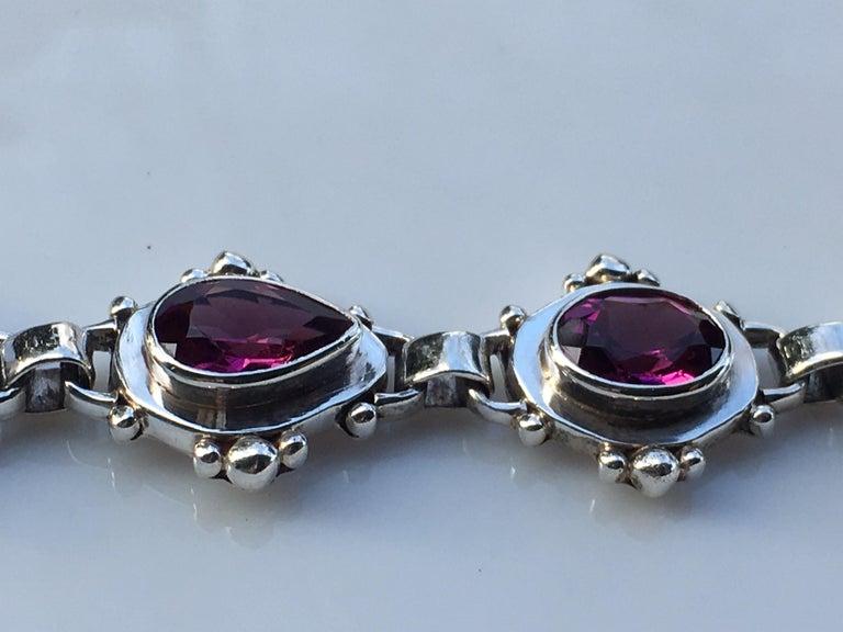 Garnet Bracelet For Sale 4