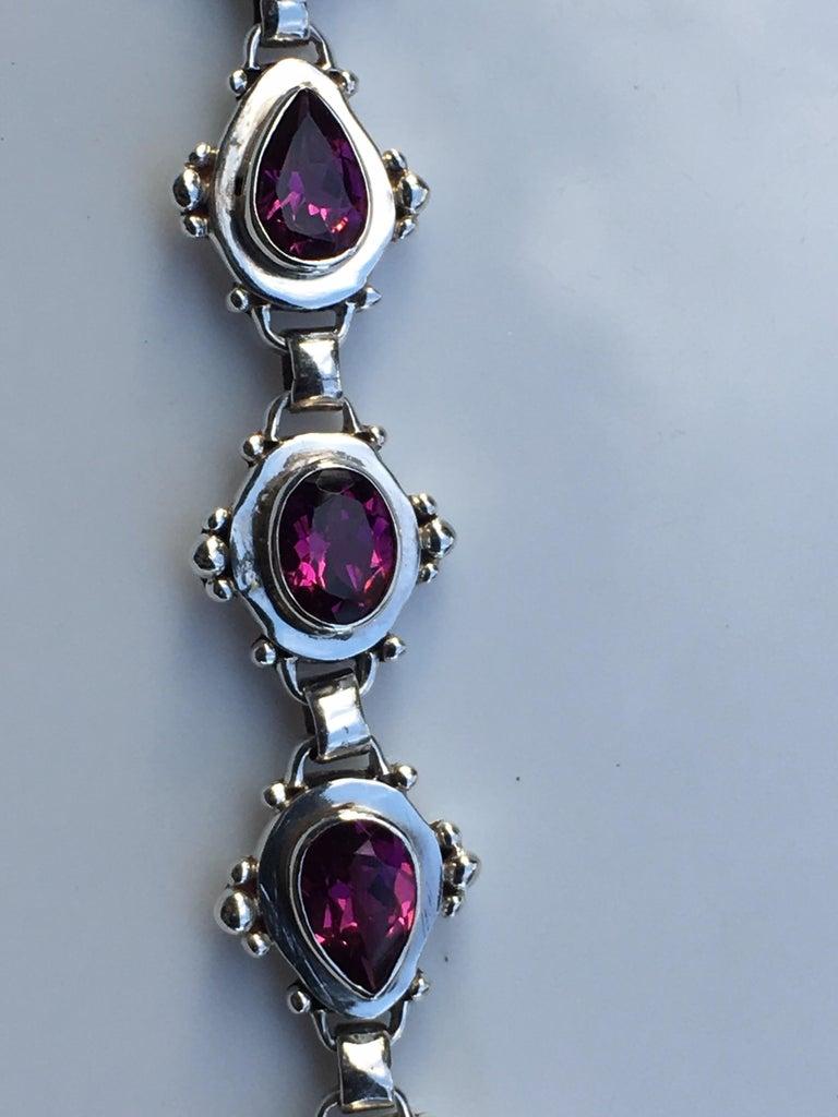Garnet Bracelet For Sale 7