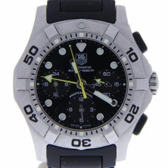 Certified Tag Heuer Carrera CN211A with 8.0 Band and Black Dial