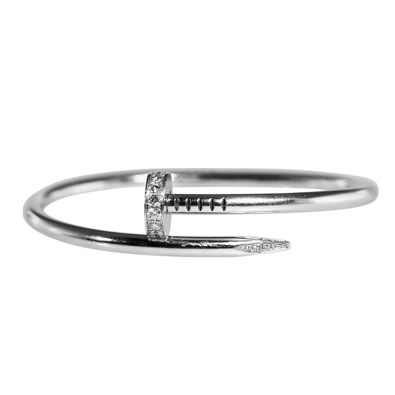 Cartier Diamond Gold Juste un Clou Bracelet 1