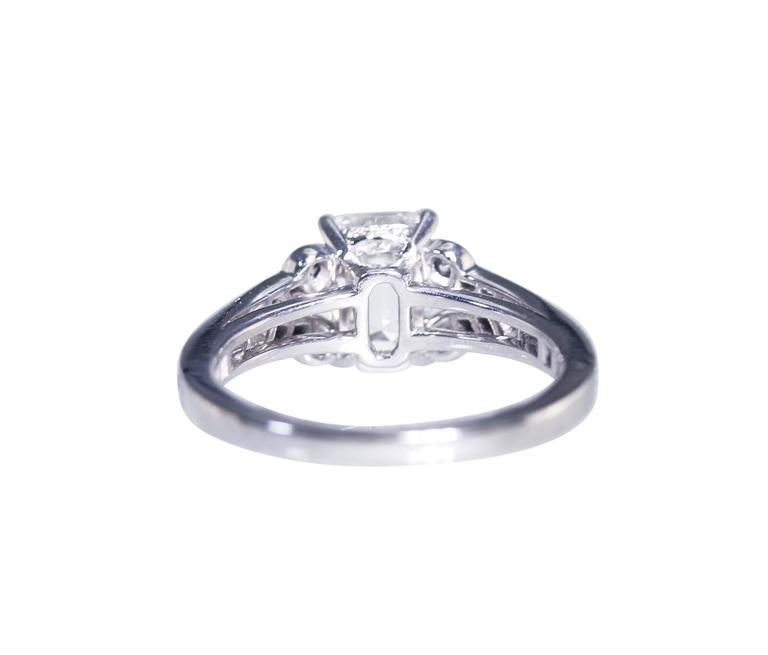 Cartier 1.55 Carat GIA Cert Diamond Platinum Engagement Ring 4