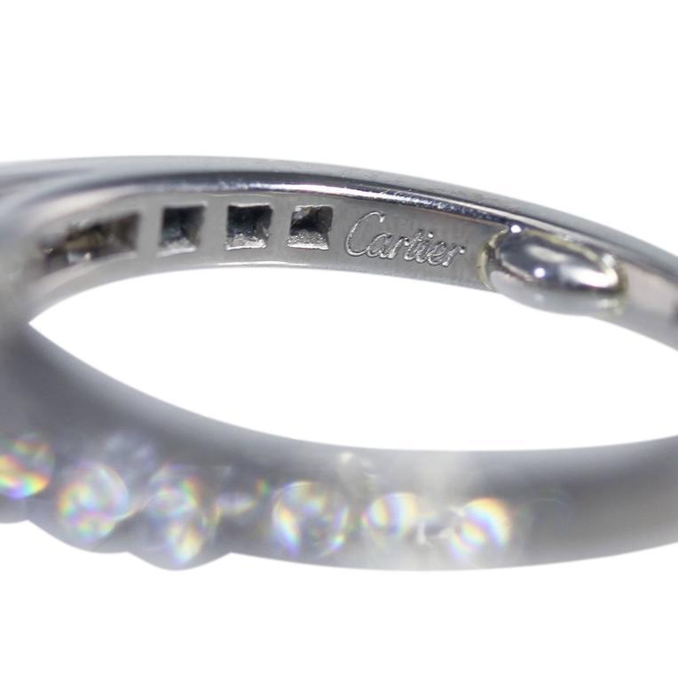 Cartier 1.55 Carat GIA Cert Diamond Platinum Engagement Ring 6