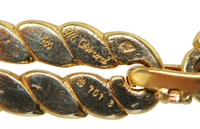 M. Gerard Gold Link Necklace Bracelet Combination 6