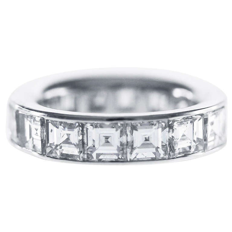 graff platinum eternity band ring for sale at 1stdibs