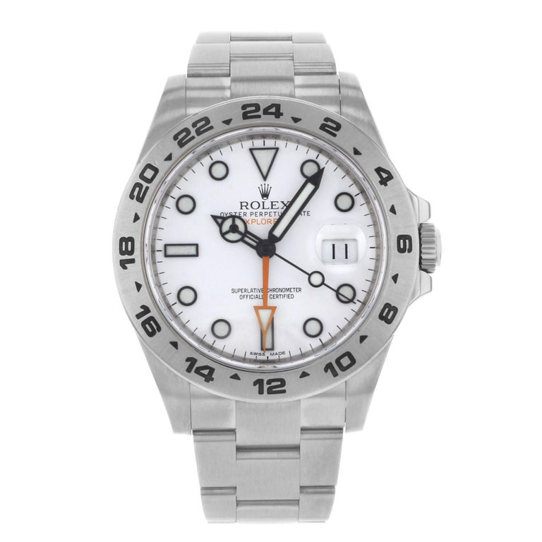 Rolex Explorer II White Dial 2014 Steel Automatic Men's Watch 216570