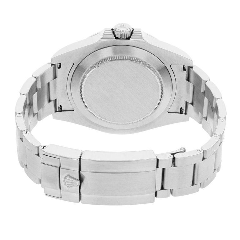 Men's Rolex Explorer II 216570 Black Dial GMT 2010 Steel Automatic Men's Watch For Sale
