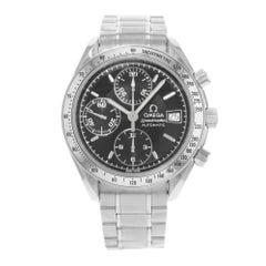 Omega Speedmaster Chronograph Black Dial Steel Automatic Men's Watch 3513.50.00