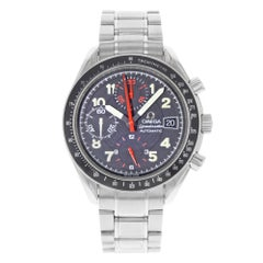 Omega Speedmaster tachymeter Chronograph Black Dial Automatic Mens Watch 3513.53