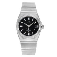 Omega Constellation Double Eagle Black Dial Steel Automatic Men's Watch 1501.51