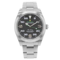 Rolex Air-King 116900 2017 Full Links Engraved Steel Automatic Men's Watch