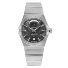 Omega Constellation Steel Black Dial Automatic Men's Watch 123.10.38.22.01.001