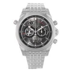 Omega DeVille Chronograph Black Dial Steel Automatic Watch 422.10.44.51.06.001