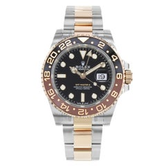 Rolex GMT-Master II 126711 Rootbeer Two-Tone Rose Gold and Steel Automatic Watch