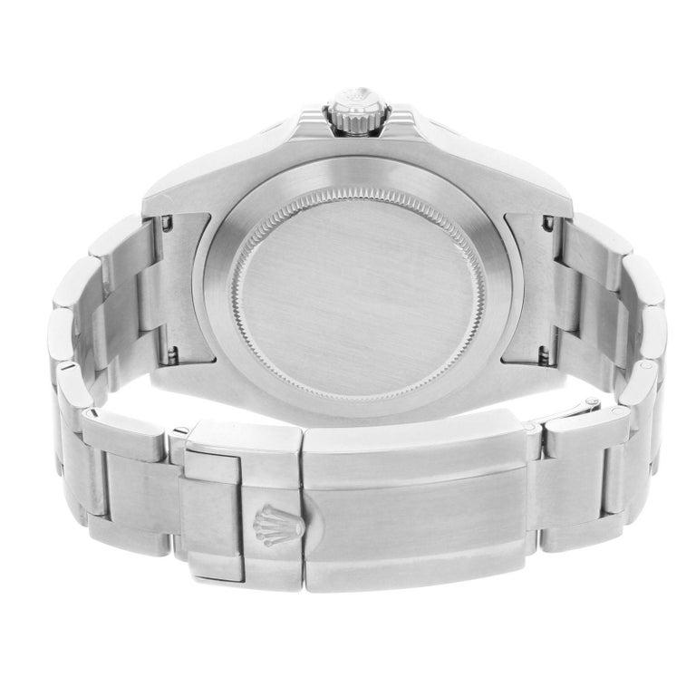 Rolex Explorer II 216570 Bk Black Dial GMT Steel Automatic Men's Watch For Sale 1