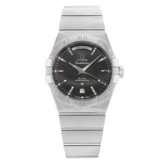 Omega Constellation Stainless Steel Automatic Men's Watch 123.10.38.22.01.001