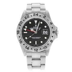 Rolex Explorer II 16570 Black Dial 1999 Stainless Steel Automatic Men's Watch