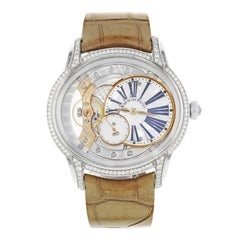 Audemars Piguet Millenary 77247BC.ZZ.A813CR.01 18 Karat Gold Hand Wind Watch