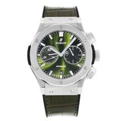 Hublot Classic Fusion 521.NX.8970.LR Titanium Green Automatic Men's Watch