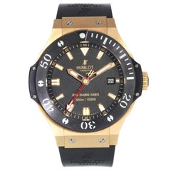 Hublot Big Bang Black Dial 18 Karat Gold Ceramic Automatic Watch 312.PM.1128.RX