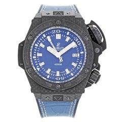 Hublot Big Bang King Oceanographique 731.QX.5190.GR Blue Carbon Automatic Watch