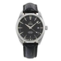 Omega Seamaster Aqua Terra Black Dial Date Steel Automatic Men's Watch 2503.50