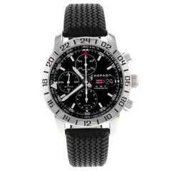 Chopard Mille Miglia GMT Chrono Steel Black Dial Automatic Watch 168992-3001