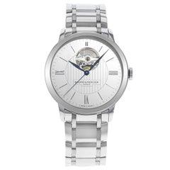 Baume et Mercier Classima Core White Dial Steel Automatic Men's Watch 10275