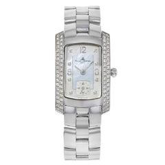 Baume et Mercier Hampton Milleis 18 Karat Gold Diamonds MOP Ladies Watch 65335