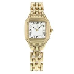 Concord 28-62-635 Square White Dial 14 Yellow Karat Gold Quartz Ladies Watch