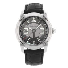 Blancpain L-Evolution 8 Days Black Steel Automatic Men's Watch 8805-1134-53B