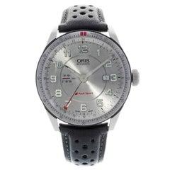 Oris Artix Audi Sport GMT Automatic Silver Dial Men's Watch 747-7701-4461LS