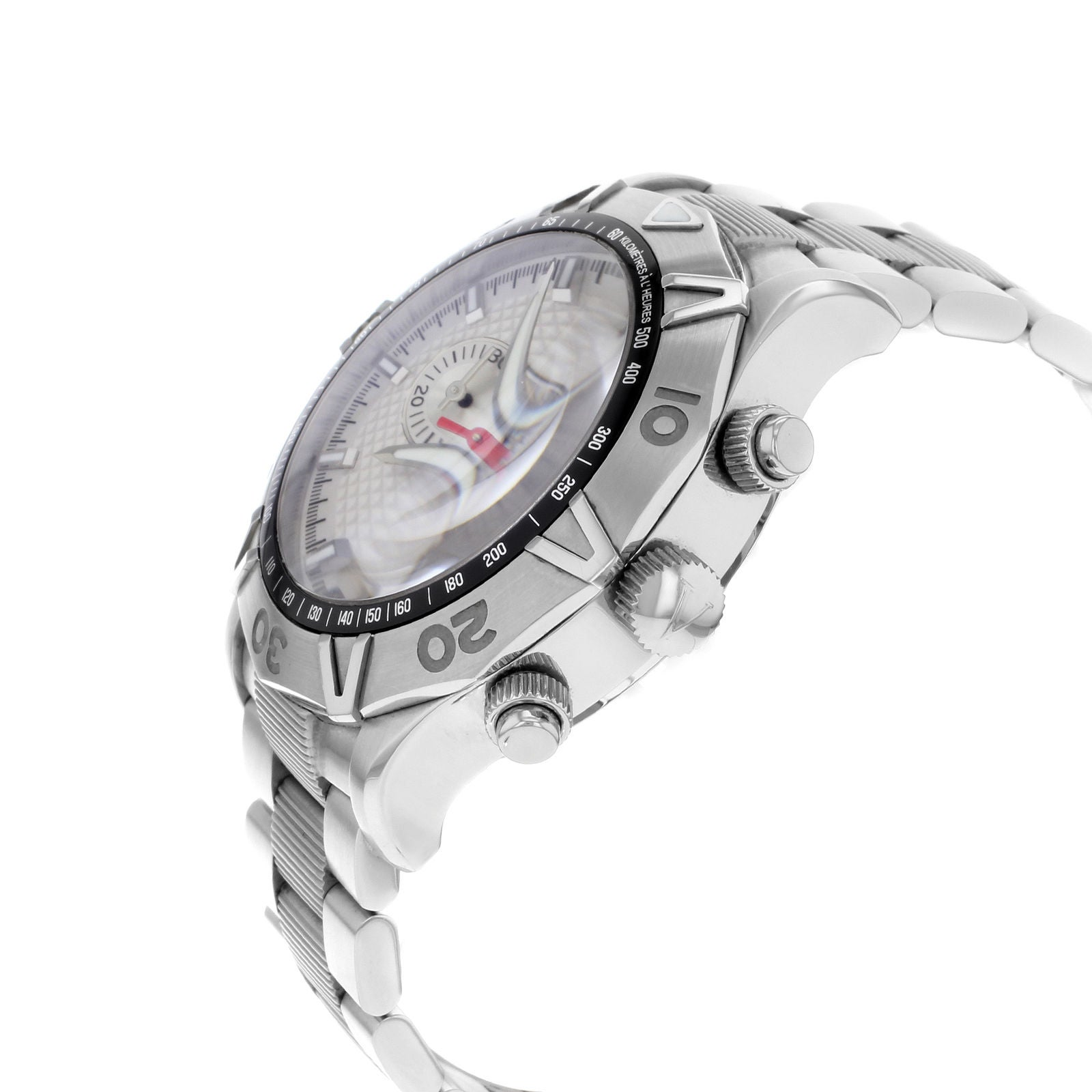 Dial Quartz S099 Stainless Watch White Homme V40lcq9902 Men's Steel Valentino 5ARLc4jS3q
