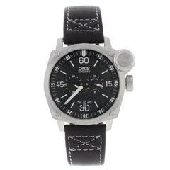 """Oris BC4 """"Der Meisterflieger"""" Black Dial Automatic Men's Watch 749-7632-4194 LS"""