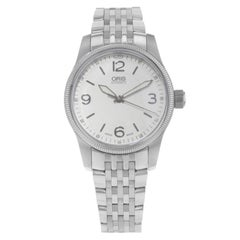 Oris Big Crown Cream Dial Stainless Steel Automatic Men's Watch 0173376494031