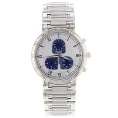 Piaget Haute Complication Silver Roman Dial 18 Karat Gold Ladies Watch 14023