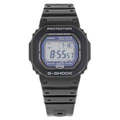 Casio G-Shock Digital Solar Black Plastic Resin Steel Watch GW5600J-1